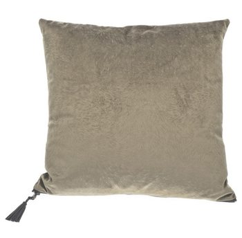 Cushion Pillow Fur Grey-Green