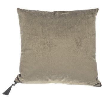 Cushion Pillow Fur Grey-Green