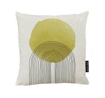 Cushion Rising Sun