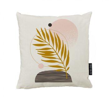 Cushion Terracota Leaf