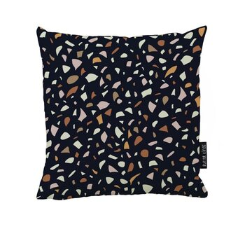 Cushion Terrazoo Love Black