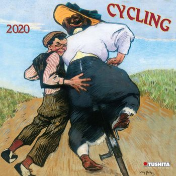 Calendar 2021 Cycling Through History