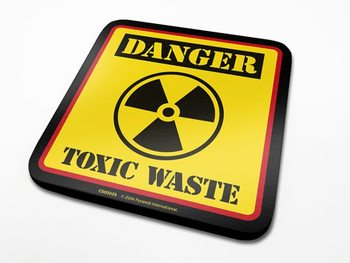 Danger Toxic Waste  Dessous de Verre