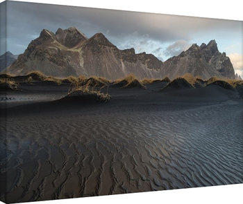 David Clapp - Stokksnes Beach, Iceland Canvas Print