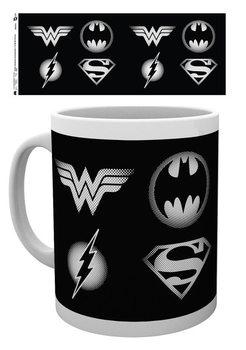 Caneca DC Comics - Logos
