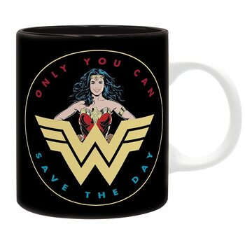Cup DC Comics - retro Wonder Woman