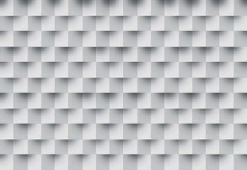 Papel de parede 3D Brick Illusion Pattern