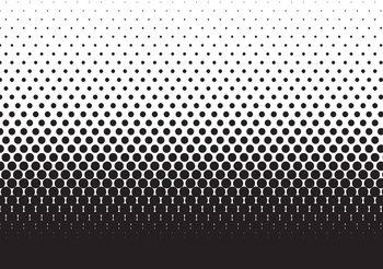 Papel de parede Abstract Black Black Dots