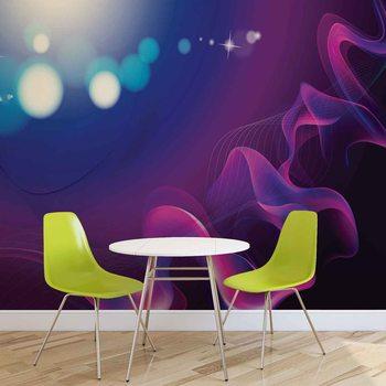 Papel de parede  Abstract Light Pattern Blue Purple