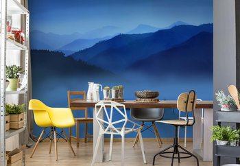 Papel de parede An Evening In Mountains