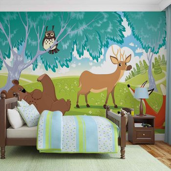 Papel de parede Animals In Forest