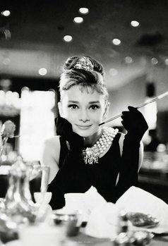 Decoração de parede Audrey Hepburn - Breakfast at Tiffany's