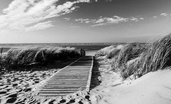 Papel de parede Beach Scene
