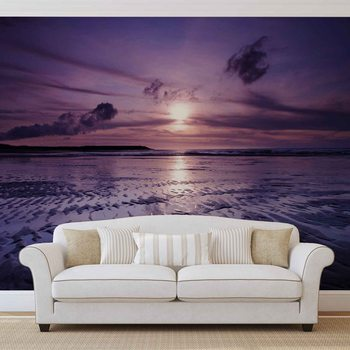 Papel de parede  Beach Sunset