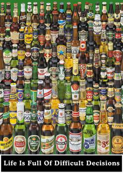 Decoração de parede Beer - life is full ...
