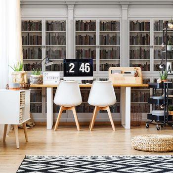 Papel de parede Bookshelves