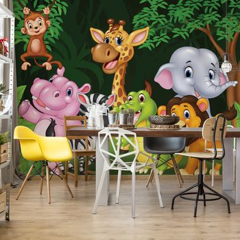 Papel de parede Cartoon Animals