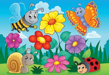 Papel de parede Cartoon Bugs