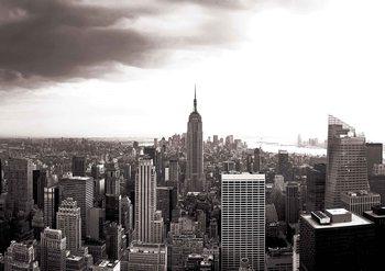 Papel de parede City New York Skyline Empire State
