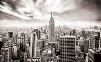 Papel de parede  City Skyline Empire State New York