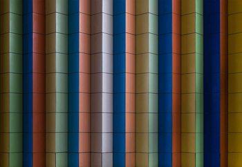 Papel de parede Colorful Stripes