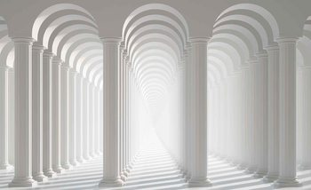 Papel de parede Columns Passage