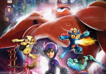 Papel de parede  Disney Big Hero 6