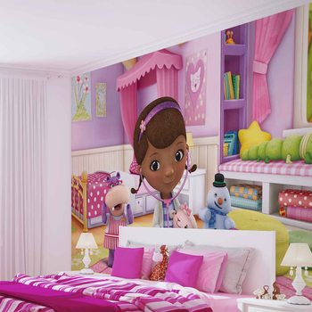 Papel de parede  Disney Doc McStuffins