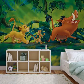 Papel de parede  Disney Lion King Pumba Simba