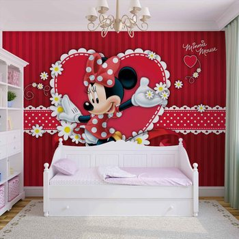 Papel de parede Disney Minnie Mouse