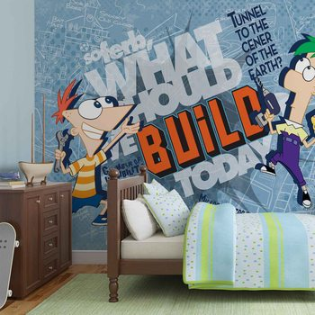 Papel de parede  Disney Phineas Ferb
