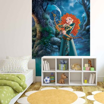 Papel de parede  Disney Princesses Merida Brave