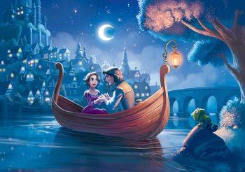 Decoração de parede Disney Princesses Rapunzel