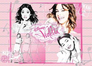 Papel de parede Disney Violetta