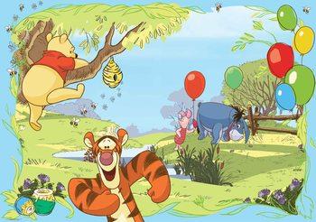 Papel de parede  Disney Winnie Pooh Tigger Eeyore Piglet