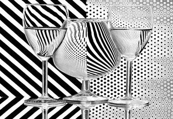 Papel de parede Dots And Stripes