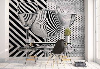Papel de parede  Dots And Stripes