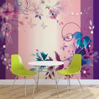 Papel de parede  Floral Design