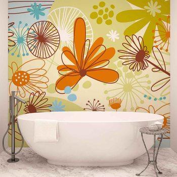 Papel de parede  Floral Pattern