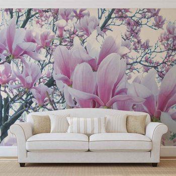 Papel de parede Flowers Magnolia