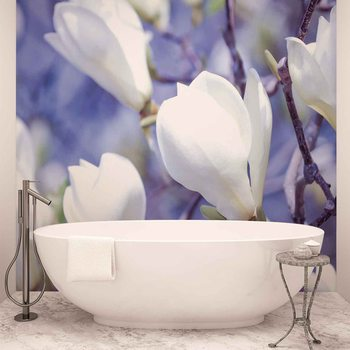 Papel de parede Flowers Magnolia Nature