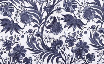 Papel de parede Flowers Plants Pattern Vintage
