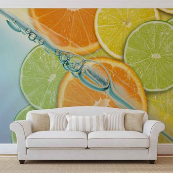 Papel de parede  Food Fruits Lime Orange Lemon