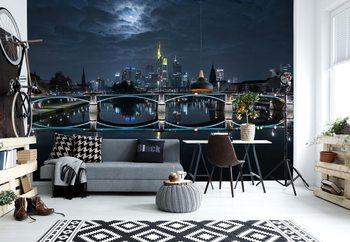 Papel de parede  Frankfurt At Full Moon
