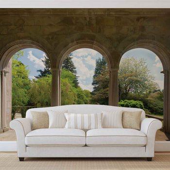 Papel de parede  Garden Through Arches