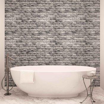 Papel de parede  Gray Brick Wall