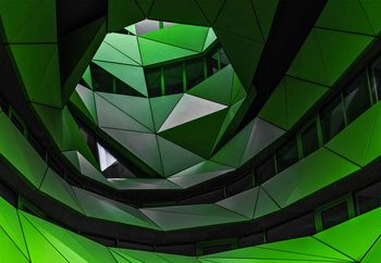 Papel de parede Green Offices