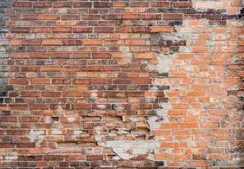 Papel de parede Grunge Brick Wall