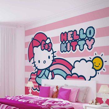 Papel de parede Hello Kitty