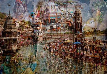 Papel de parede Holy India